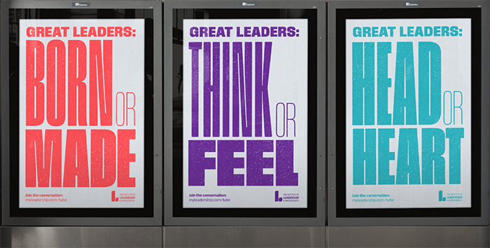 Great Leaders campaign creative